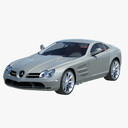 Mercedes Benz SLR 3D models
