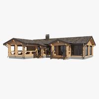 Log House LH LVD 040