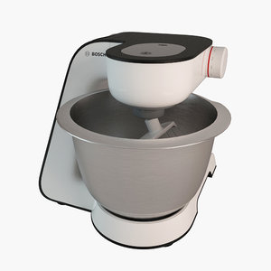 3ds bosch food processor