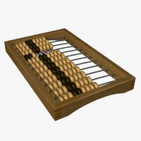 abacus russian 3d model
