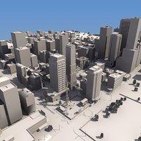 Detailed City Mass Model