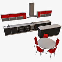 3d max kitchen 18