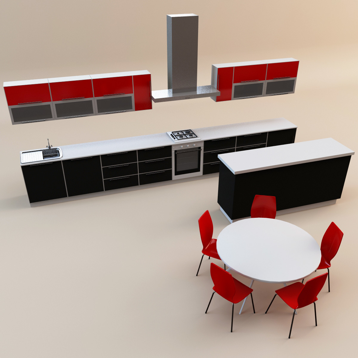 3d max kitchen 18