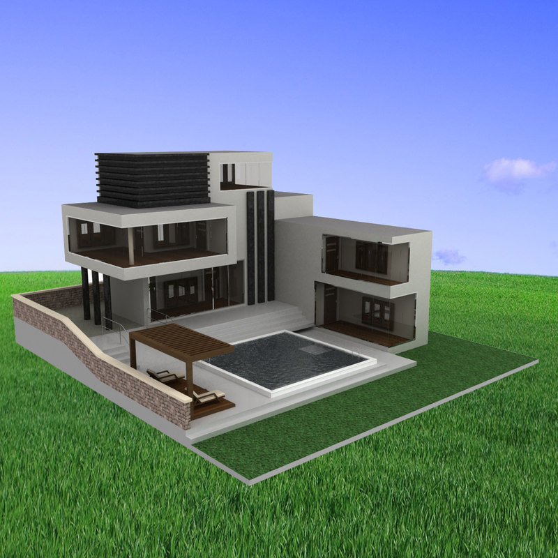 Architecture House Model modern model houses - pueblosinfronteras