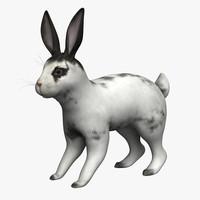 3d model rabbit bunny