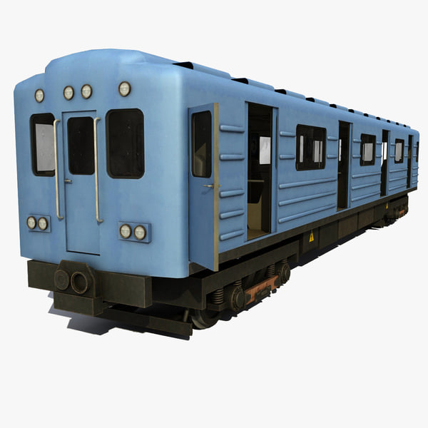 3ds max subway modeled