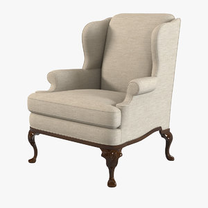 century deming chair 11-507 3d 3ds