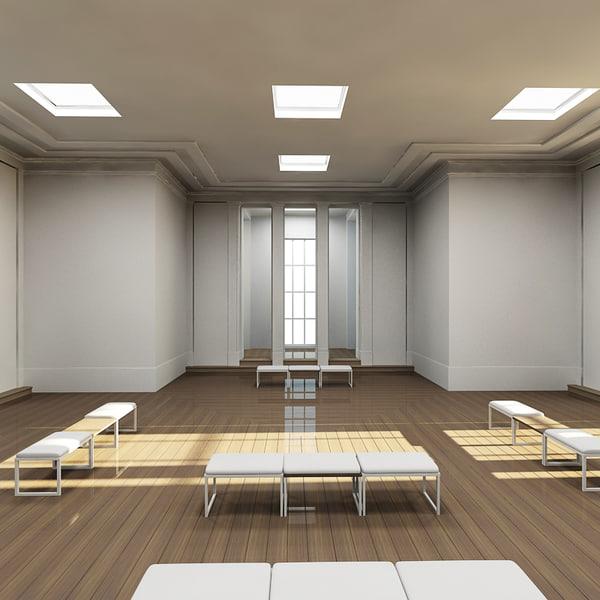 3ds max interior scene