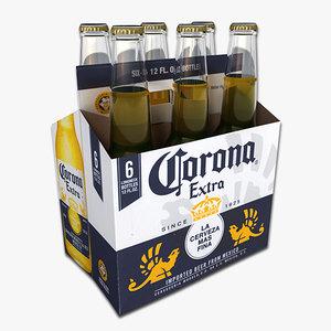 3d model pack corona extra