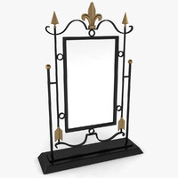 3d mirror stand