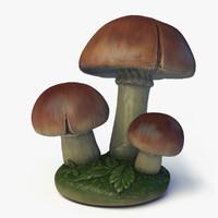 mushroom ready games 3d max