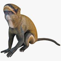 brazza s monkey 3d max