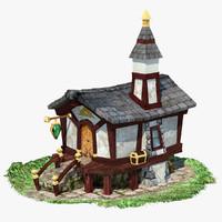 3d ed dwarf house