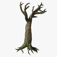 spooky tree 3d model