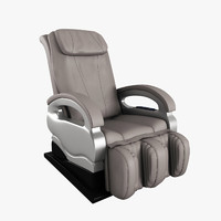 3d massage chair model
