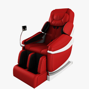 massage chair 3d max