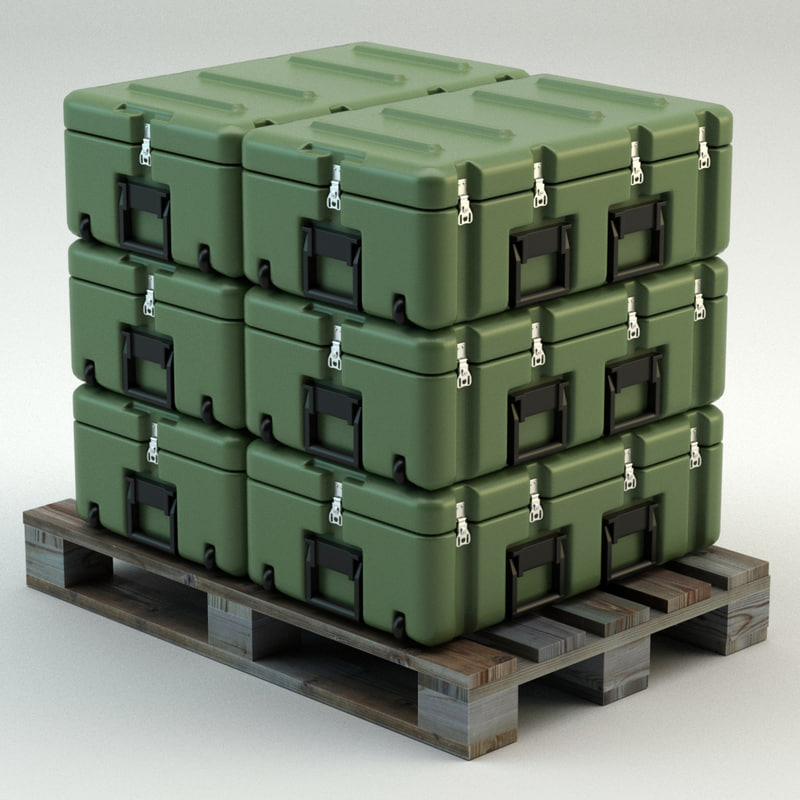 3dsmax military case
