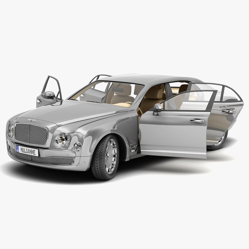 Bentley Mulsanne: 3d Model Bentley Mulsanne Mulliner 2013