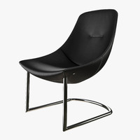 rolf benz 582 chair 3d max