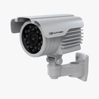 waterproof surveillance camera 3d model