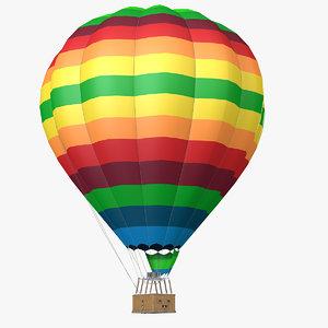 3d model air balloon