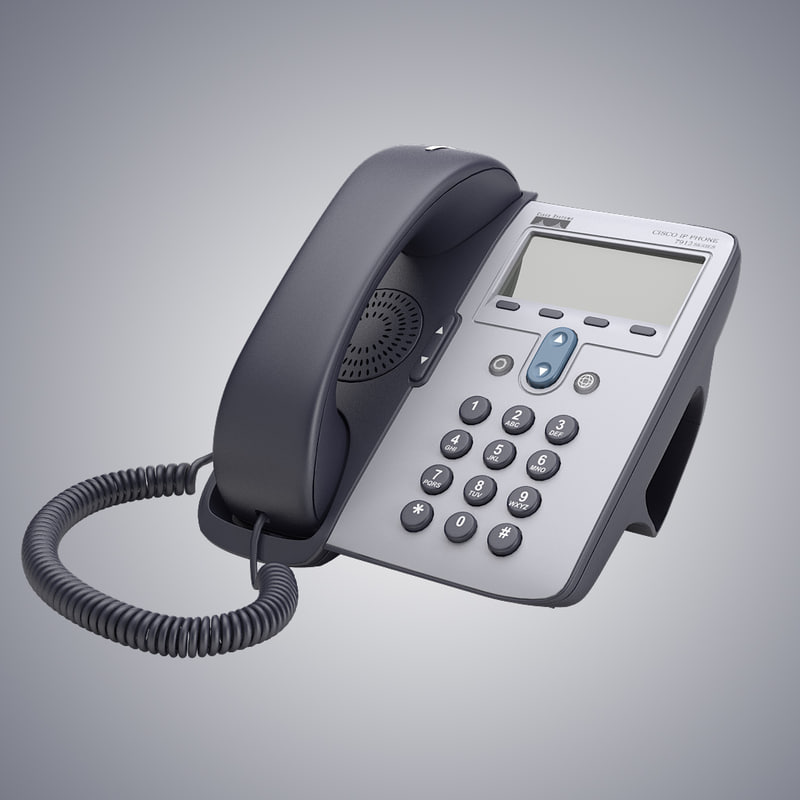 3d cisco telephone model