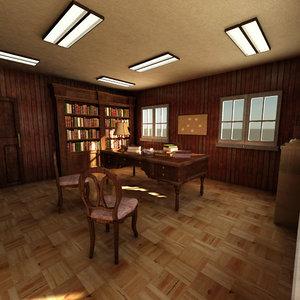 max wood office interior