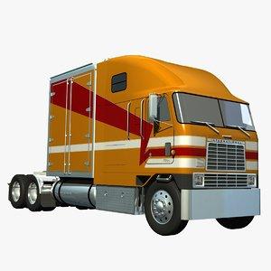 international 9670 van moving lwo