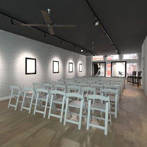 3d art club interior