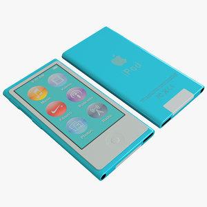 ipod nano 3d max