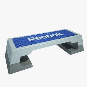 3ds max reebok step