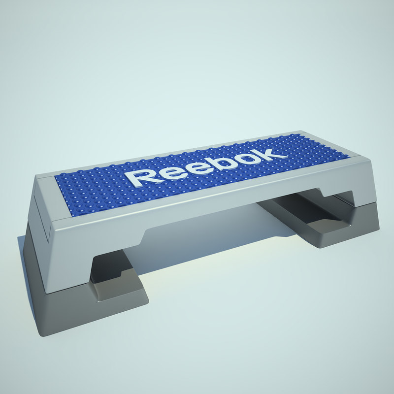 3ds max reebok step