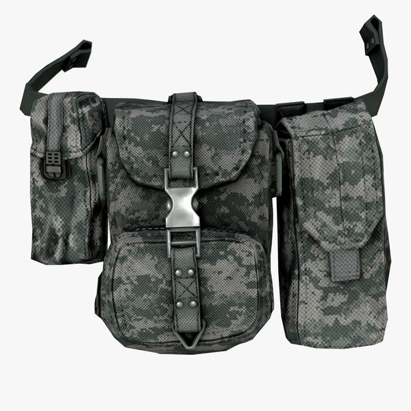 military cartridge pouches 3d ma