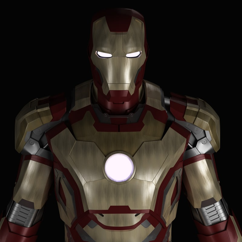3d ironman mark armor