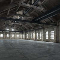 warehouse realistic 3d max