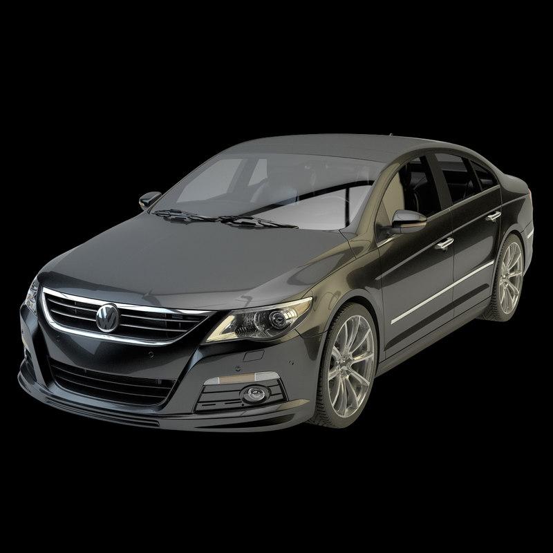 car rigging 3d model