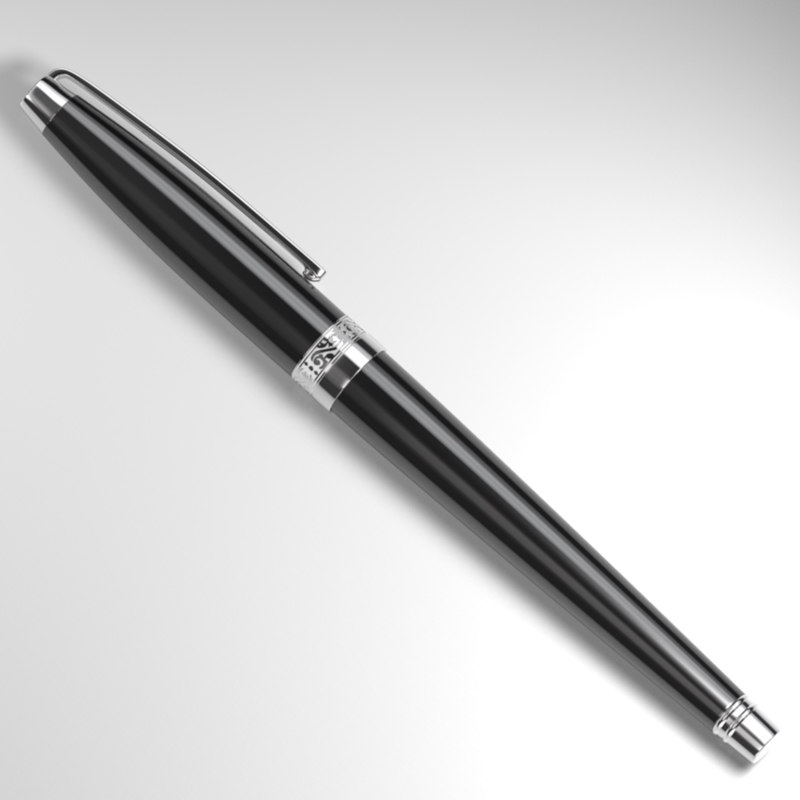 fountain pen obj
