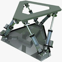 motion simulator 3D models