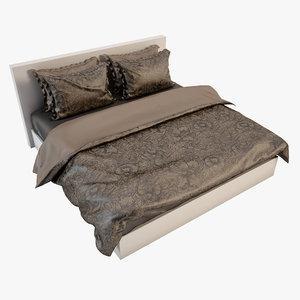 bedcloth bed 3d max