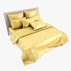 3d model bedcloth bed cloth