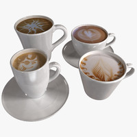 Coffee Art Cups