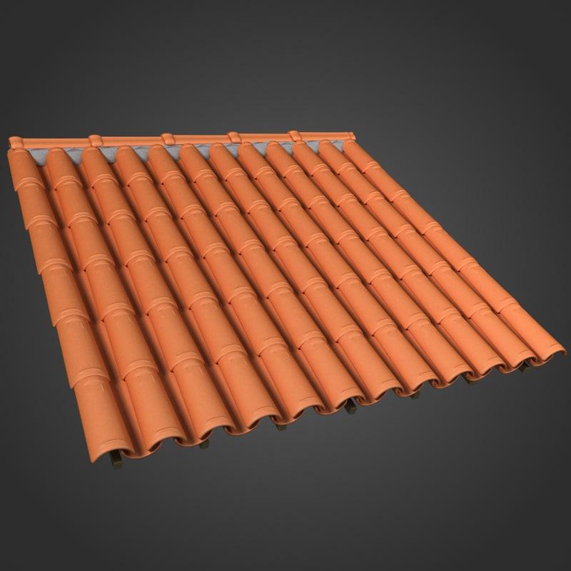 3ds roof ceramic