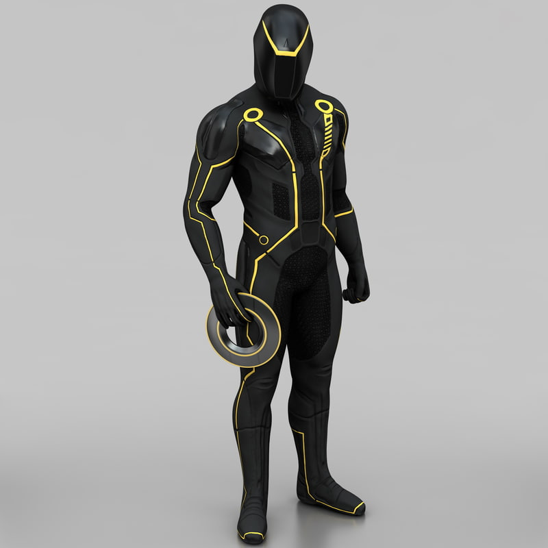 tron legacy character pose 3ds