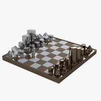 3d model diego matthai chrome