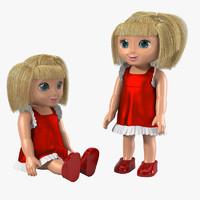 Toy Doll Set