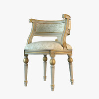 3d max angelo cappellini classic chair