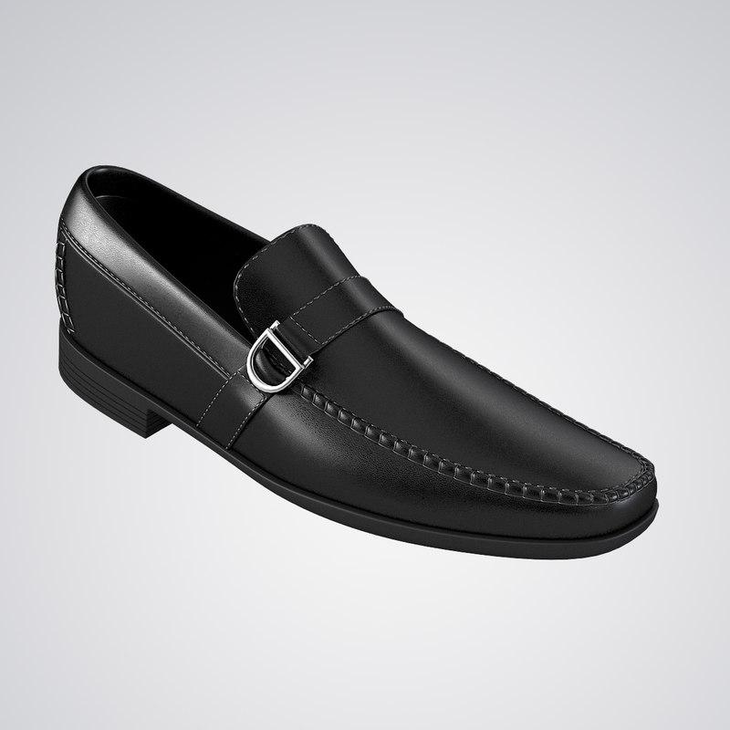 loafer shoes 3d model