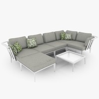 Casual Lounge Furniture Set