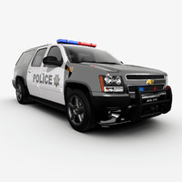 Chevrolet Suburban police