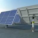 solar unit 3D models